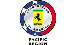 Ferrari Club of America - Pacific Region