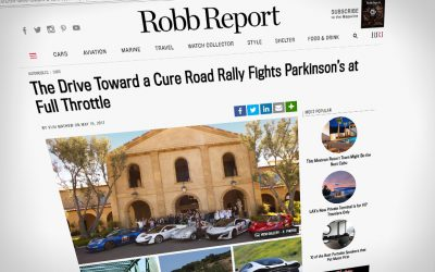 Drive Toward a Cure and Maserati Fuel Robb Report Feature
