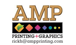 AMP Printing + Graphics / rickh@ampprinting.com