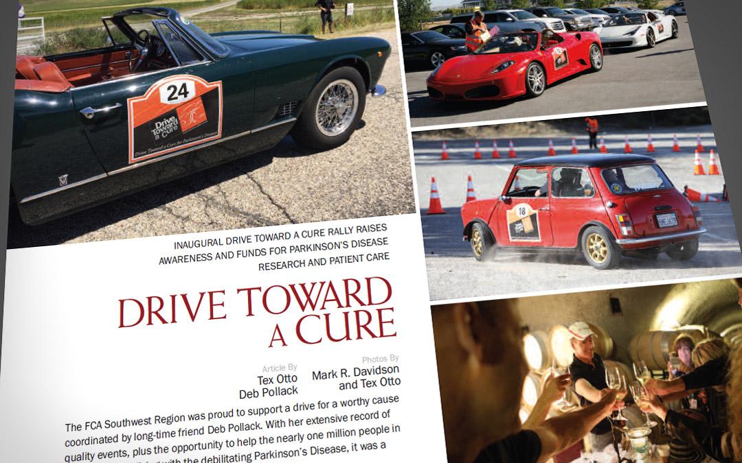 Ferrari Club of America, Southwest Region, loved the California Adventure