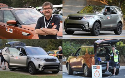 Drive Toward a Cure Team Hits the Road with Pair of Land Rover Discovery SUVs