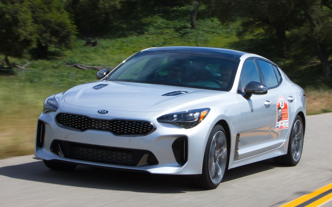 Drive Toward a Cure & the 2018 Kia Stinger GT