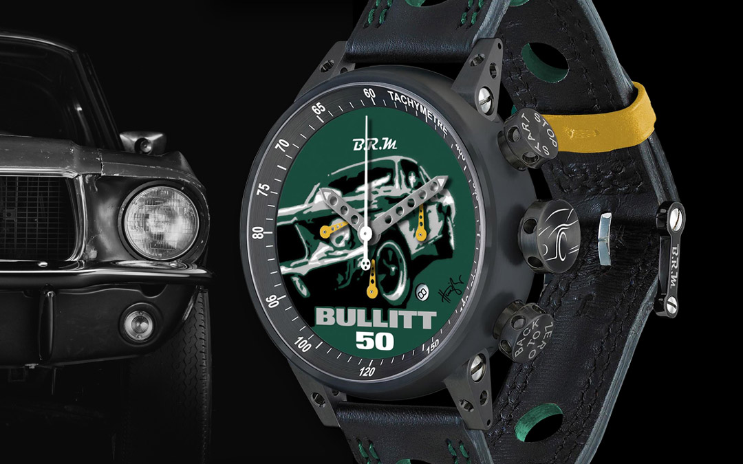 "One-Of-A-Kind Hunziker/BRM ""Bullitt 50 Chronograph"" Raffle"
