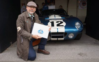 Drive Toward A Cure's Artistic Partner Paul Chenard  Named Guest Artist at 2019 Greenwich Concours